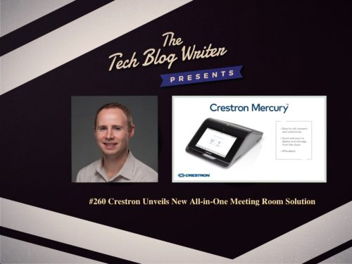 260: Crestron Unveils New All-in-One Meeting Room Solution