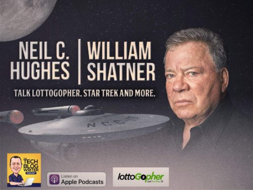 341: William Shatner Talks About LottoGopher, Star Trek & the Ubuntu Project