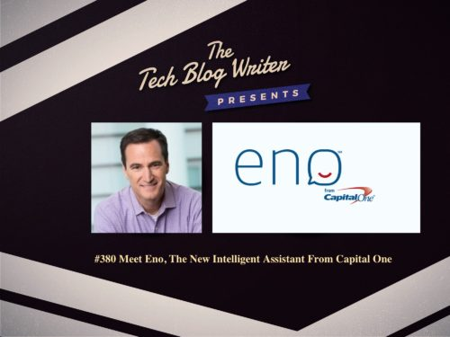 380: Meet Eno, The New Intelligent Assistant From Capital One