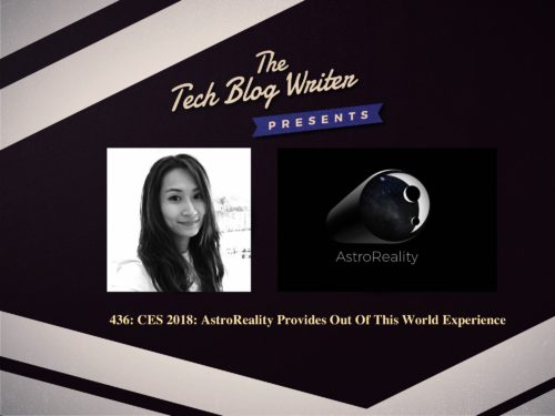 436: CES 2018: AstroReality Provides Out Of This World Experience