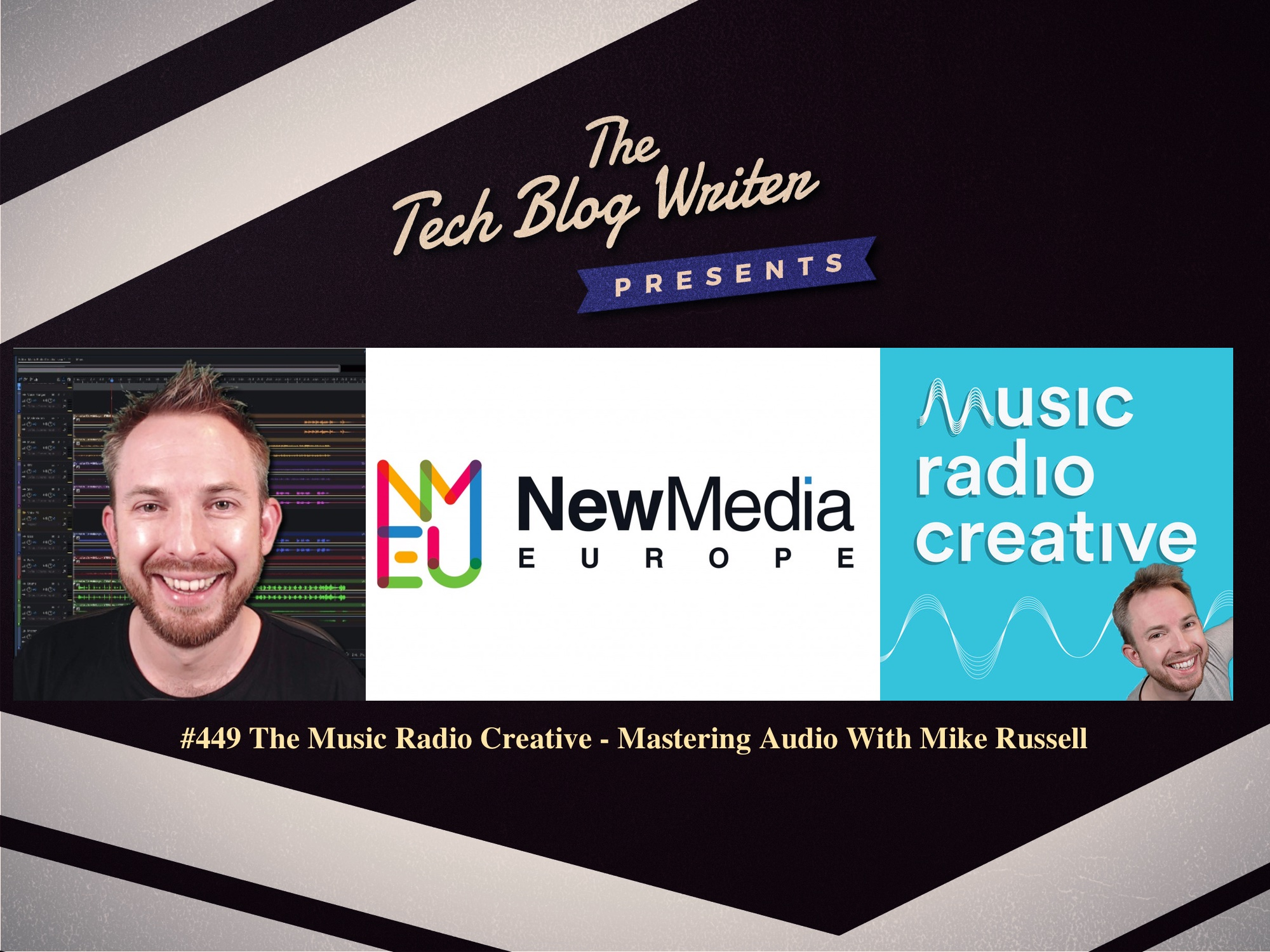 449: The Music Radio Creative – Mastering Audio With Mike Russell