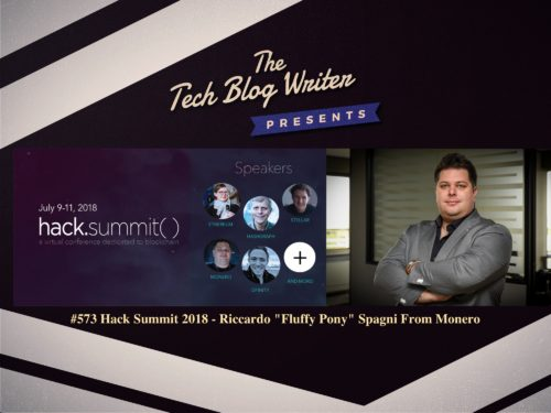 "573: Hack Summit 2018 – Riccardo ""Fluffy Pony"" Spagni"