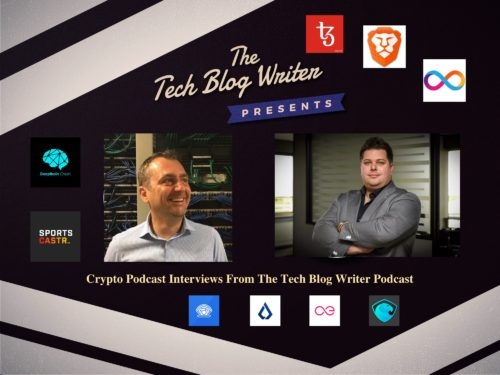 Crypto Podcast Interviews From The Tech Blog Writer Podcast