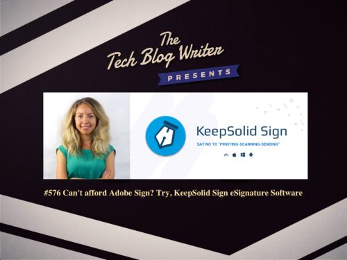 576: Can't afford Adobe Sign? Try, KeepSolid Sign eSignature Software