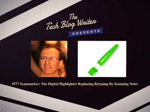 577: Scanmarker: Digital Highlighter Replaces Retyping By Scanning Notes