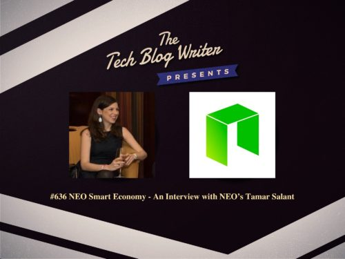636: NEO Smart Economy – An Interview with NEO's Tamar Salant