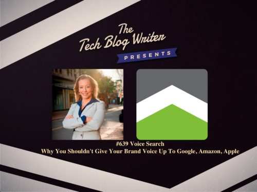 639: Voice Search – Why You Shouldn't Give Your Brand Voice Up To Google, Amazon, Apple