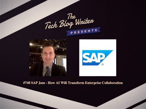 748: SAP Jam – How AI Will Transform Enterprise Collaboration