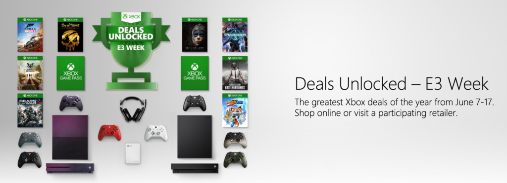 Xbox One Deals Unlocked In E3 Sale