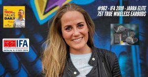 Jabra Elite 75T - IFA 2019 - Tech Talks Daily