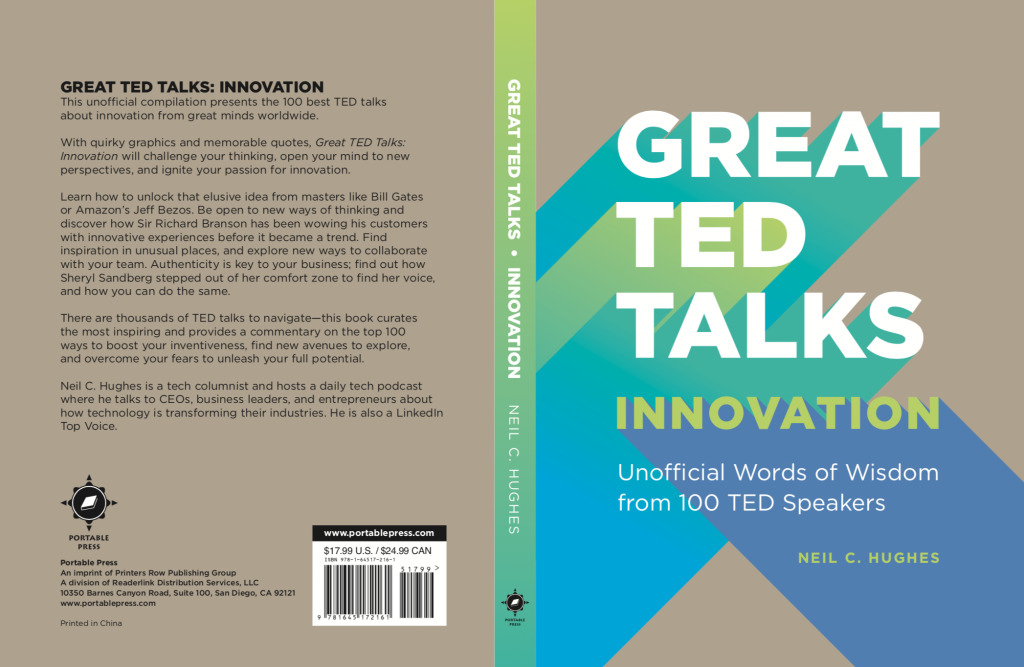 Great TED Talks on Innovation Book By Neil C. Hughes