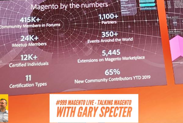 Gary Specter, MagentoLive Tech Talks Daily Podcast