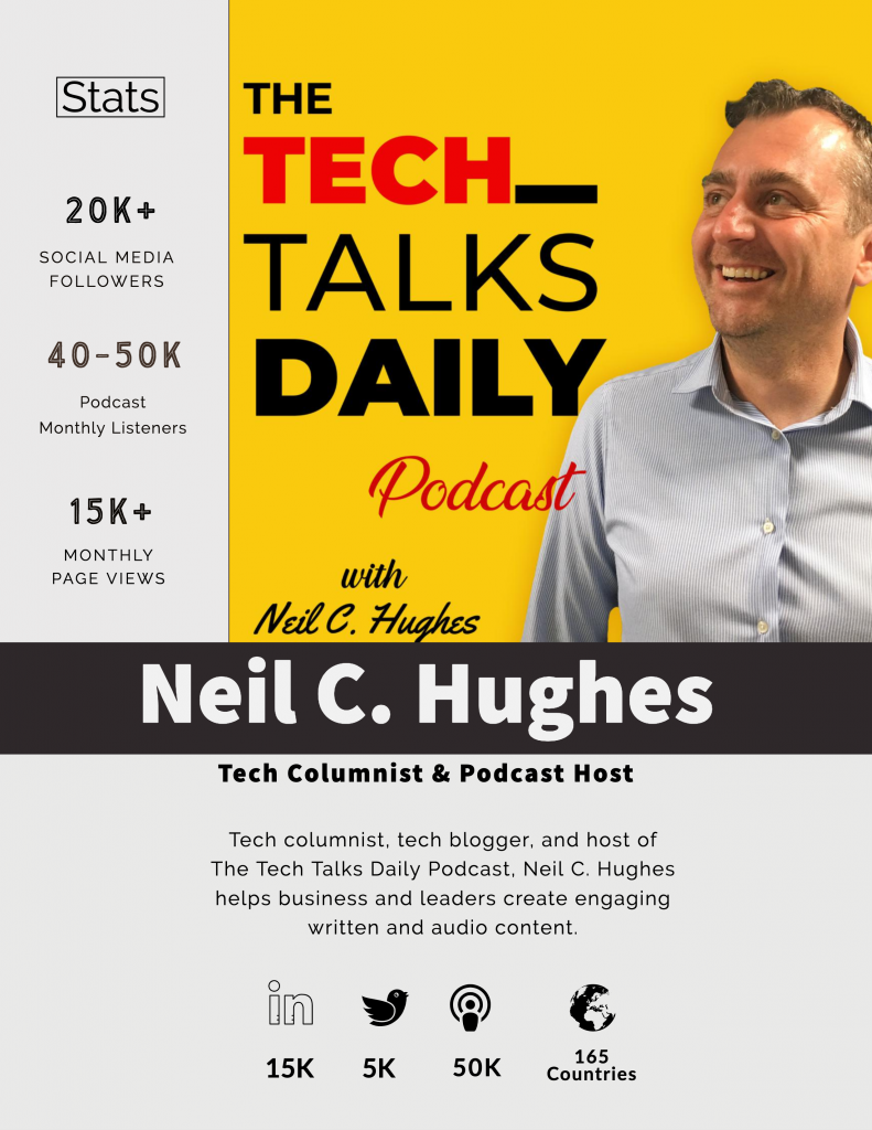 Tech Talks Daily Podcast Stats