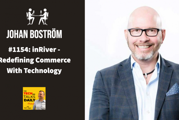 Johan Boström inRiver - Tech Talks Daly Podcast